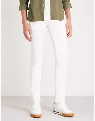 Jacob Cohen Tailored-fit tapered stretch-cotton jeans