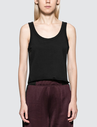 Alexander Wang Alexander Wang.T Dry French Terry Tank With Distressed Hem