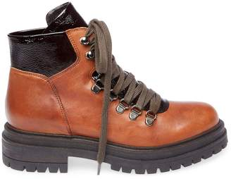 25ecde11b01 Leather Lace Up Boots Steve Madden - ShopStyle
