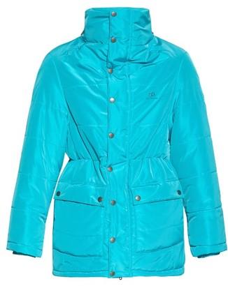 Balenciaga Incognito Padded Jacket - Mens - Blue
