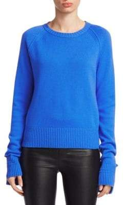Helmut Lang Slouch Sleeve Cashmere Sweater