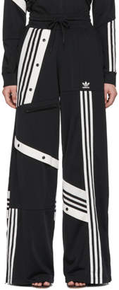adidas by Danielle Cathari Black Deconstructed Lounge Pants