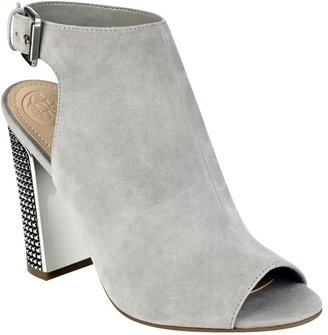GUESS Geogia Studded Suede Booties $109 thestylecure.com