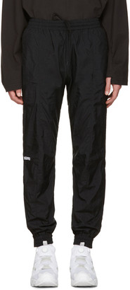Vetements Black Reebok Edition Biker Track Pants $860 thestylecure.com