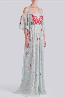 Temperley London Potion Off-Shoulder Dress