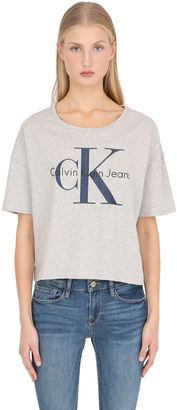True Icon Cropped Cotton Jersey T-Shirt $60 thestylecure.com