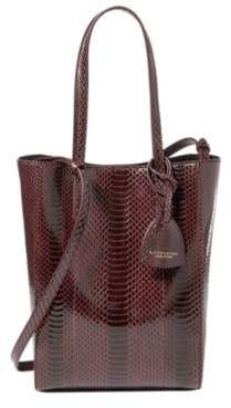 Ralph Lauren Ayers Mini Modern Tote Bordeaux One Size