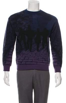 Louis Vuitton 2019 Brick Road Wool Sweater indigo 2019 Brick Road Wool Sweater