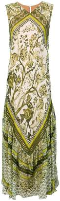 Alberta Ferretti printed maxi dress