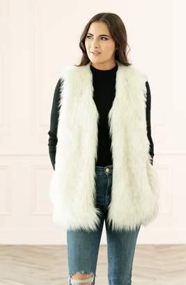 Rachel Parcell Faux Fur Vest