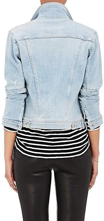 L'Agence Women's Celine Slim Femme Denim Jacket