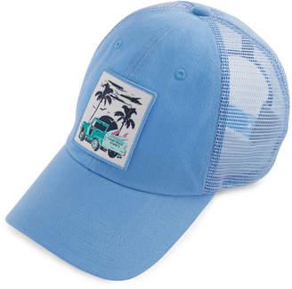 Vineyard Vines Womens Truck & Palm Patch Trucker Hat