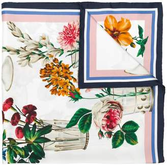 Dolce & Gabbana square floral printed scarf