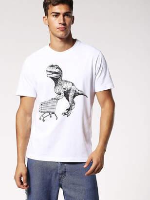 Diesel T-Shirts 0EADQ - White - XXL