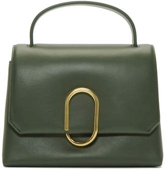 3.1 Phillip Lim Green Mini Alix Top Handle Satchel