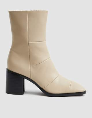 Intentionally Blank More Hugs Square Toe Boot in Natural Leather