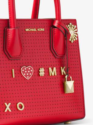 MICHAEL Michael Kors Pave Gold-Tone Alphabet Pin