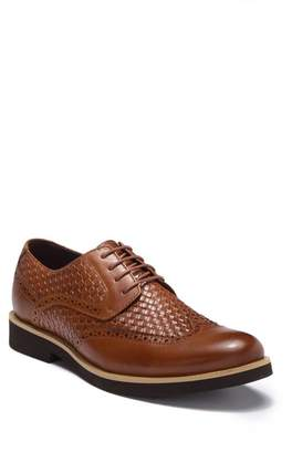 English Laundry Bart Weaved Leather Wingtip Derby