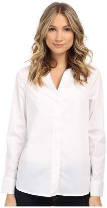 Sam Edelman Devon Hidden Placket Long Sleeve Blouse Women's Blouse