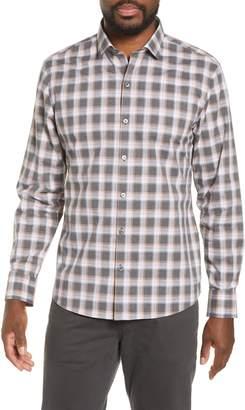 Zachary Prell Pagatpatan Regular Fit Plaid Sport Shirt