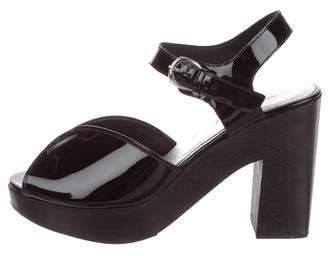 Rachel Comey Patent Platform Sandals