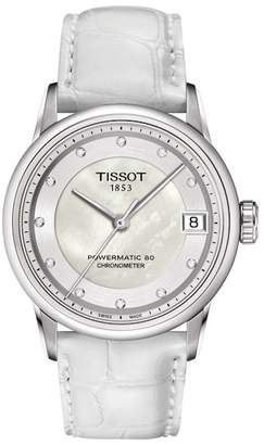 Tissot Women's Powermatic Luxury Diamond Watch, 33mm - 0.042 ctw