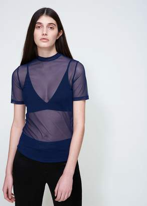 Nomia Short Sleeve Mock Neck