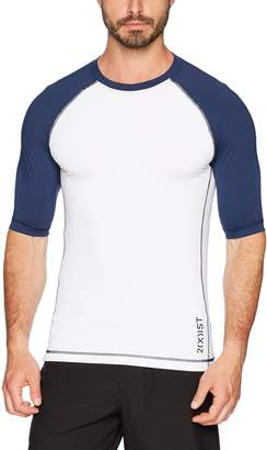2xist Men's Short Sleeve Rash Guard Swimwear