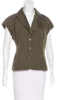 Lida Baday Short Sleeve Button-Up Jacket