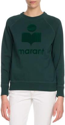 Etoile Isabel Marant Milly Graphic Logo Crewneck Pullover Sweatshirt