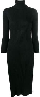 Elisabetta Franchi side slit dress