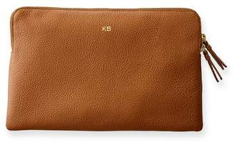 Mark And Graham Daily Leather Zip Pouch