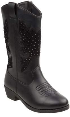 KensieGirl Studded Western Boot