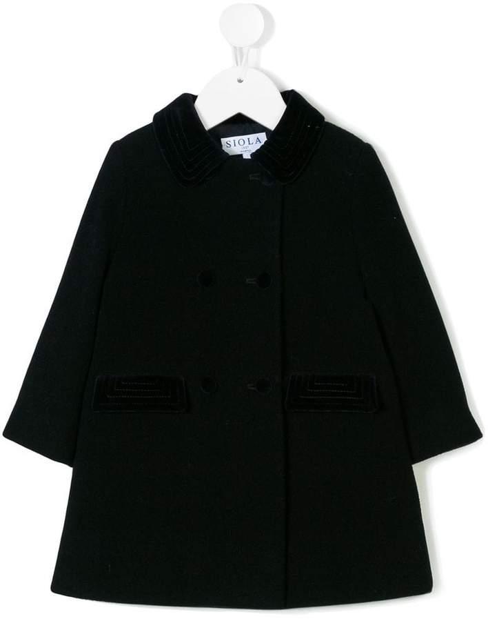 Siola single breasted coat