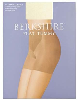Berkshire Women's Ultimate Control Flat Tummy Silky Sheer Pantyhose 8116