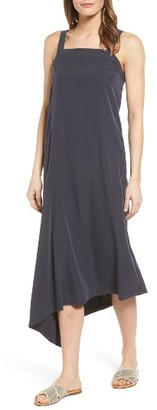 Women's Nic+Zoe City Slicker Asymmetrical Midi Dress $148 thestylecure.com
