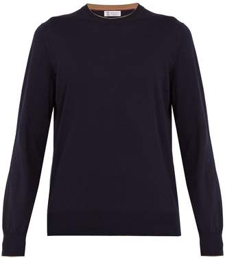 Brunello Cucinelli Crew-neck cotton sweater