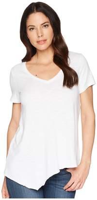Lilla P Short Sleeve V-Neck Women's Short Sleeve Pullover
