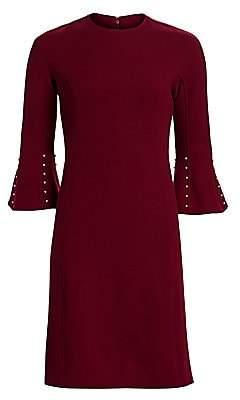 Lela Rose Women's Embellished Wool-Blend Tunic Dress