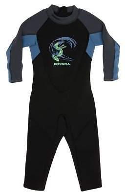 O'Neill New Boys Toddler Reactor Full 2Mm Steamer Black Blue Graph 1