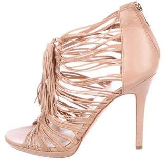 Dolce Vita Leather Cage Sandals