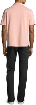 Vince Men's Garment-Dyed Short-Sleeve Polo Shirt