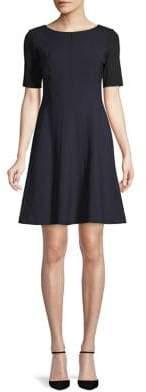 Elie Tahari Kelsey Fit-and-Flare Dress