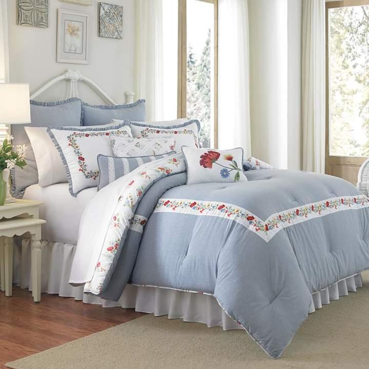 Peking Handicraft, Inc. MaryJane's Home Summer Dream 3pc Comforter Set - King