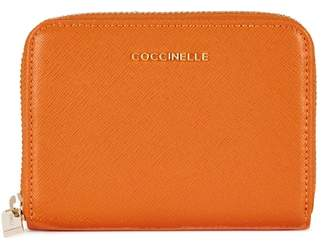 Coccinelle Small Orange Leather Wallet