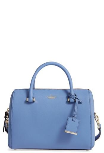 Kate SpadeKate Spade New York Cameron Street Large Lane Leather Satchel - Blue