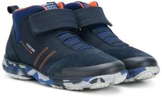 Geox (ジェオックス) - Geox Kids touch-strap sneakers