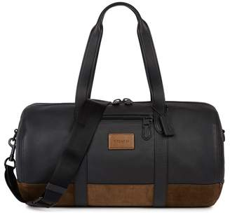 Coach Metropolitan Leather And Suede Holdall