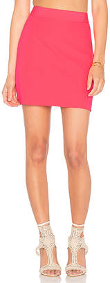 MILLY Modern Mini Skirt in Pink $225 thestylecure.com