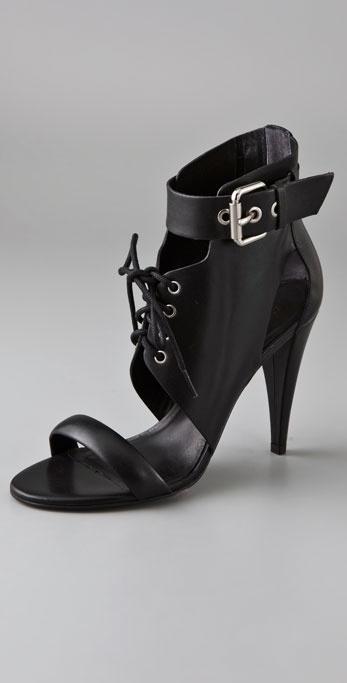 Pour La Victoire Brit Lace Up Sandals